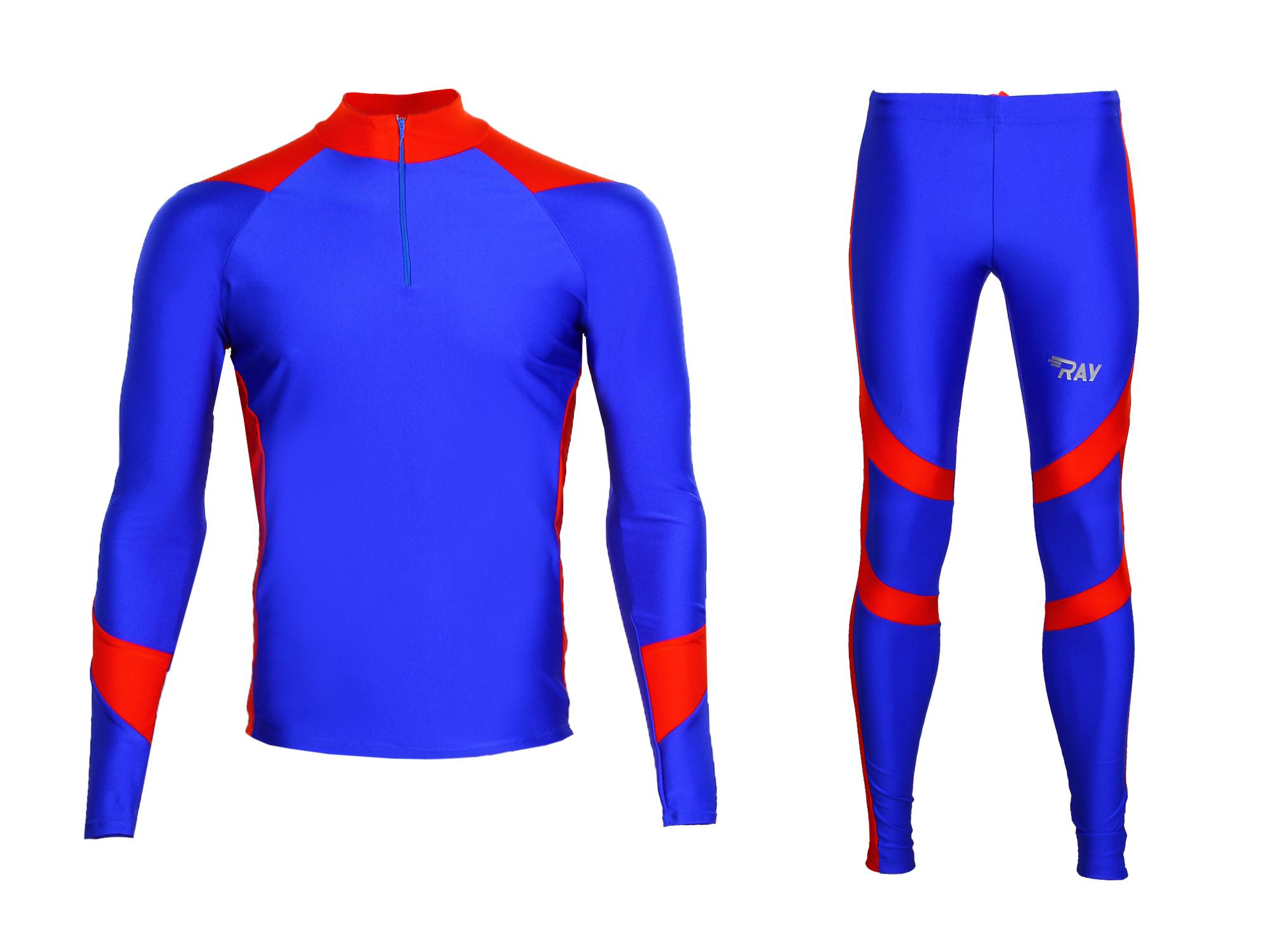 Комбинезон лыжный RAY Star синий красный - Сеть спортивных магазинов ... 57c0fb00dbe