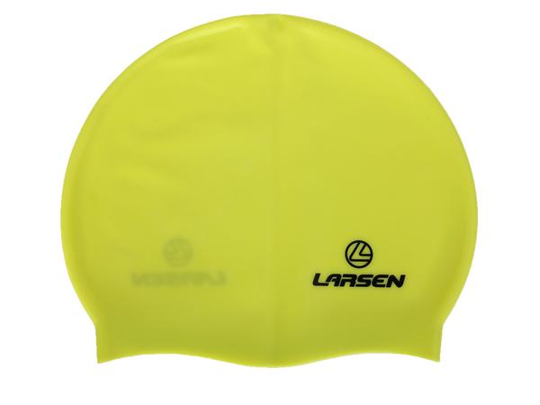 Шапочка плавательная Larsen LS77 лайм