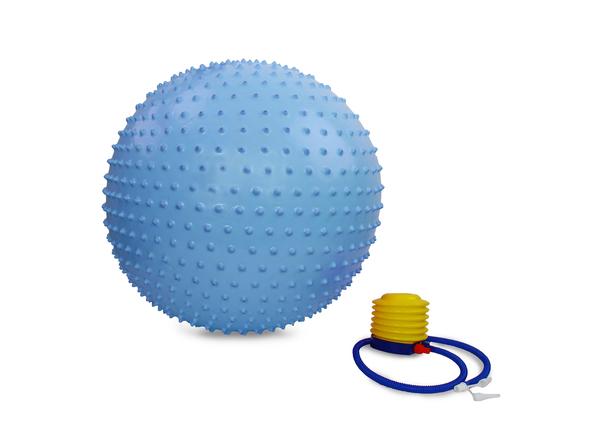 Мяч гимнастический Gym Ball 65 см голубой