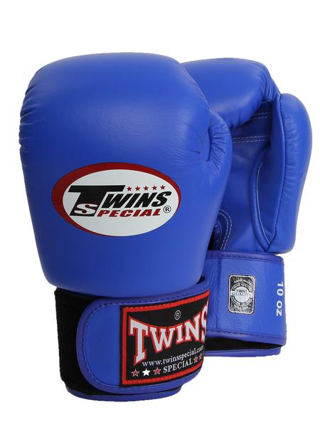 Перчатки боксерские Twins BGVL-3 10oz синие