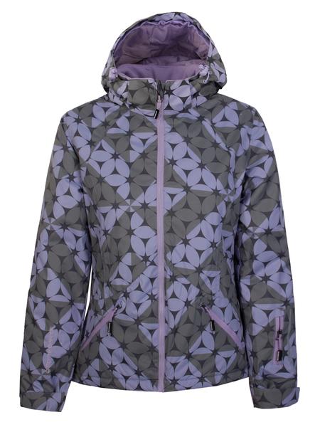 Куртка горнолыжная женская Monte Grande принт