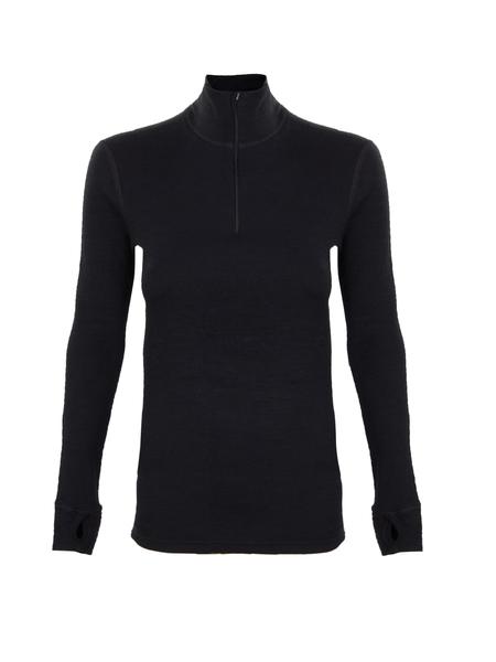 Термобелье футболка с длинным рукавом Norveg черная
