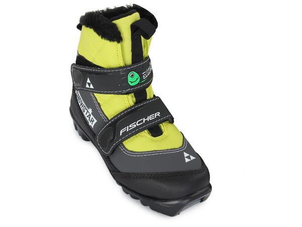 Ботинки лыжные Fischer Snowstar Yellow NNN S41016