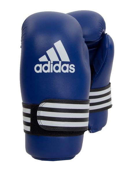 Перчатки для единоборств Adidas Semi Contact Gloves синие