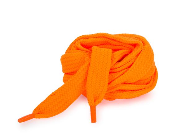 Шнурки Corbby плоские оранжевые 120 см