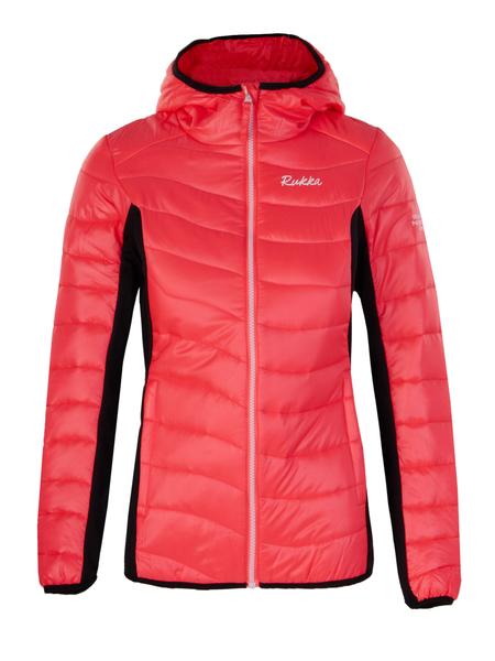 Куртка утепленная женская Rukka розовая