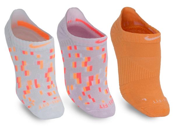 Носки Nike Dri-FIT Graphic 2 Training No-Show Sock 3 пары