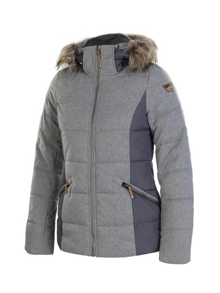 Куртка утепленная женская Icepeak серая