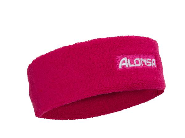 Повязка на голову Alonsa 140-1A красная