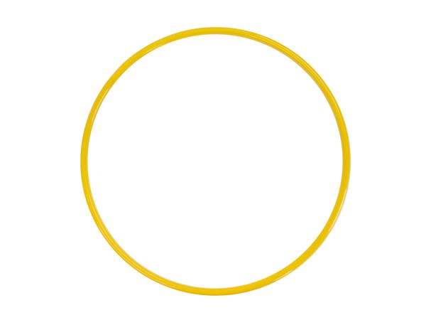 Обруч металлический желтый 54 см