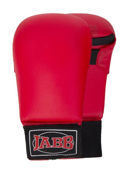 Накладки для каратэ  Jabb JE-2791 искусственная кожа красный