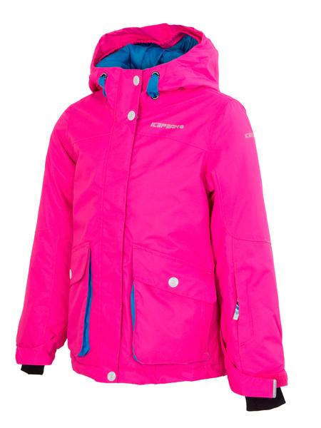 Куртка горнолыжная детская Icepeak розовая