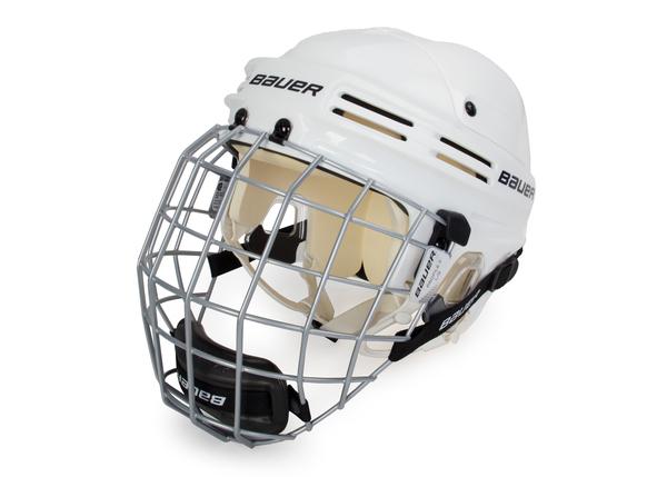 Шлем хоккейный с маской Bauer Combo 4500