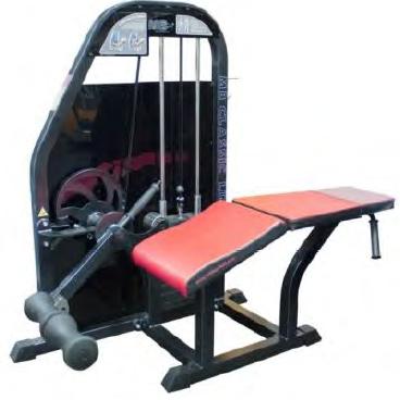 Тренажер для мышц бедра-сгибание ног лежа MB Barbell 3.21