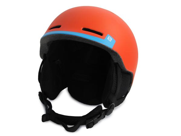 Шлем горнолыжный Salomon Helmet GROM FLUO ORANGE/Blue