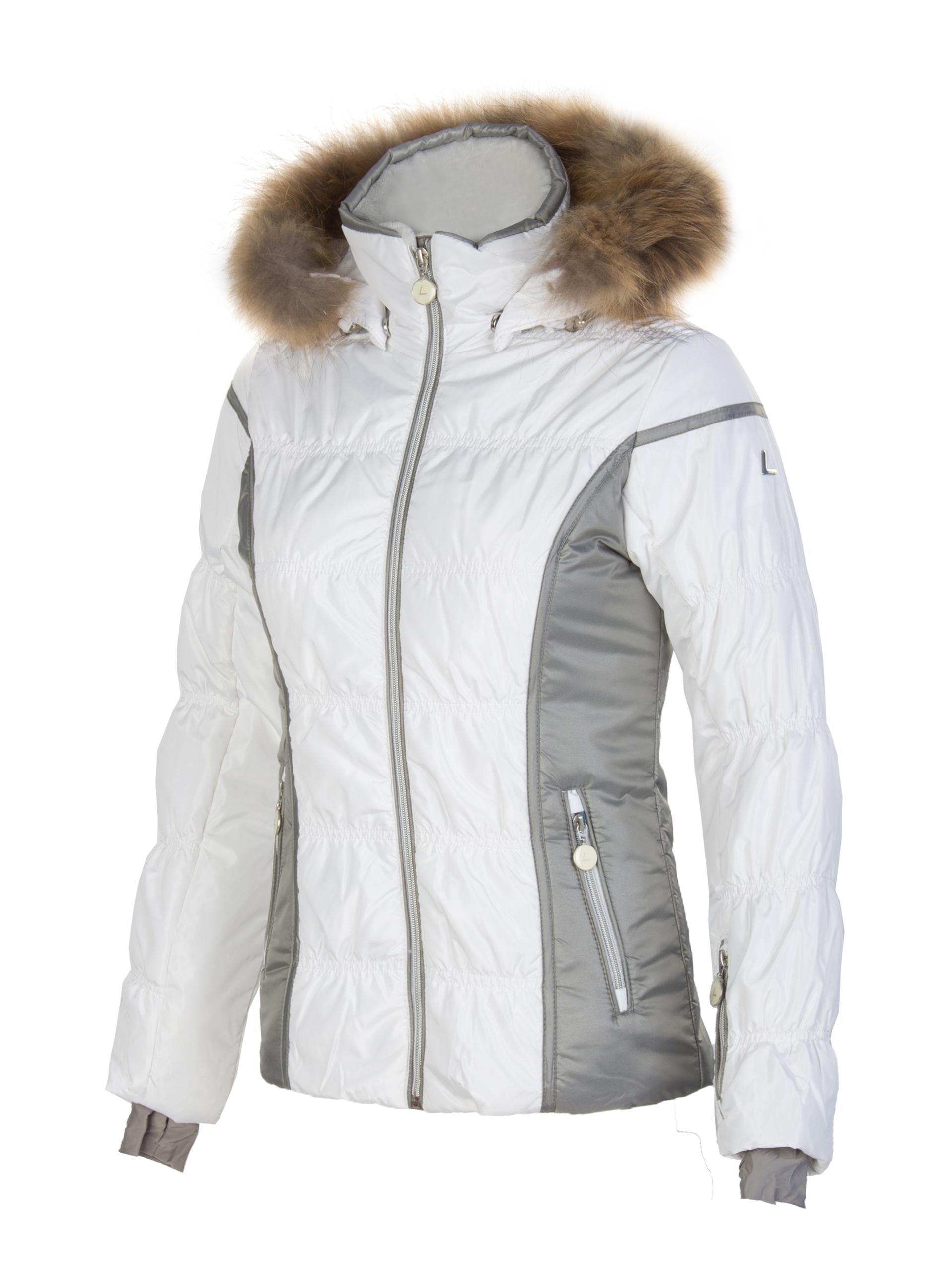 5e681b5fc66 Куртка горнолыжная женская Luhta Linda белая - Сеть спортивных ...