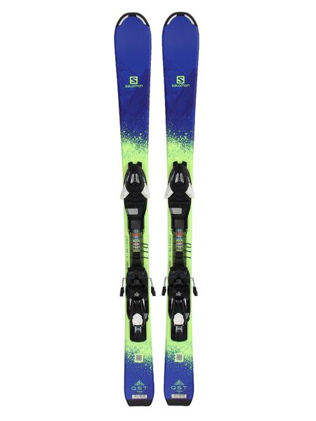 Лыжи горные с креплениями Salomon SKI SET E QST MAX Jr S + E EZY5 J75