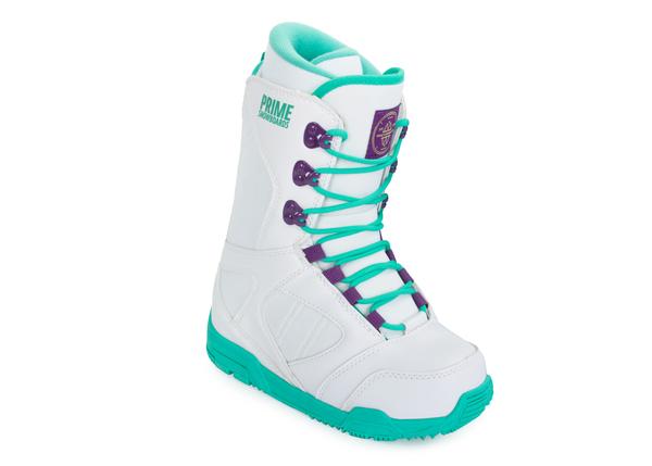 Ботинки сноубордические Prime Rover V1.0 белые