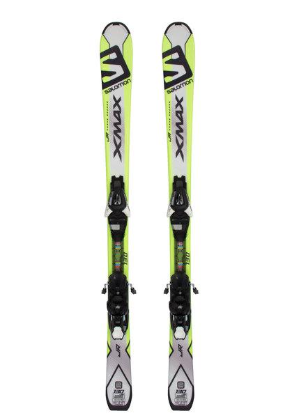 Лыжи горные с креплениями Salomon SKI SET E X-MAX Jr M + E EZY7 B80