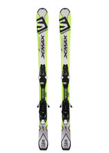 Лыжи горные Salomon SKI SET E X-MAX Jr M + E EZY7 B80