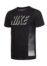 Футболка мужская Nike Dri-FIT Cotton Static Blockc серая