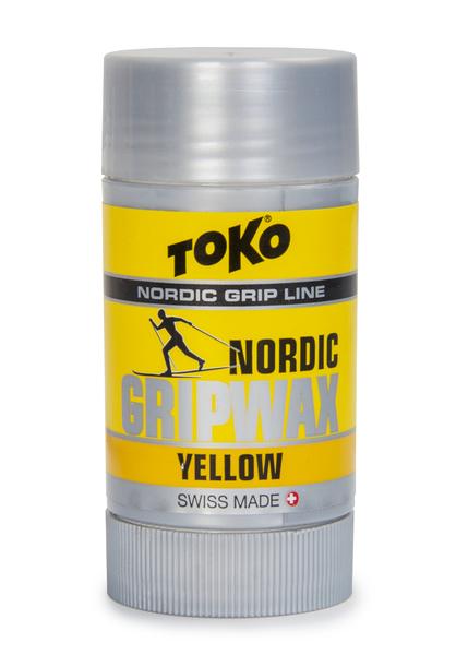Мазь держанияя Toko Nordic GripWax yellow