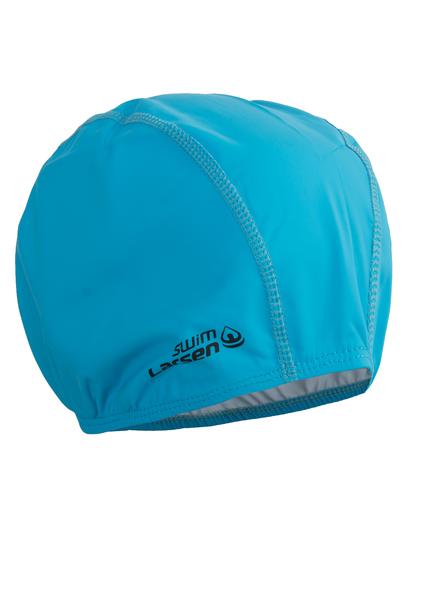 Шапочка плавательная Larsen голубая