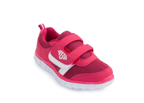 Кроссовки детские AS4 Mark розовые