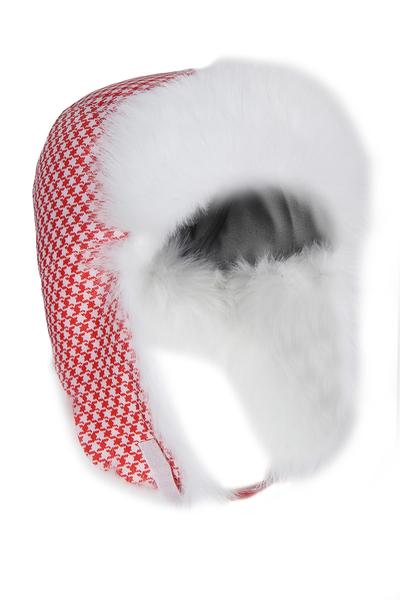Шапка-ушанка Dorofey красная