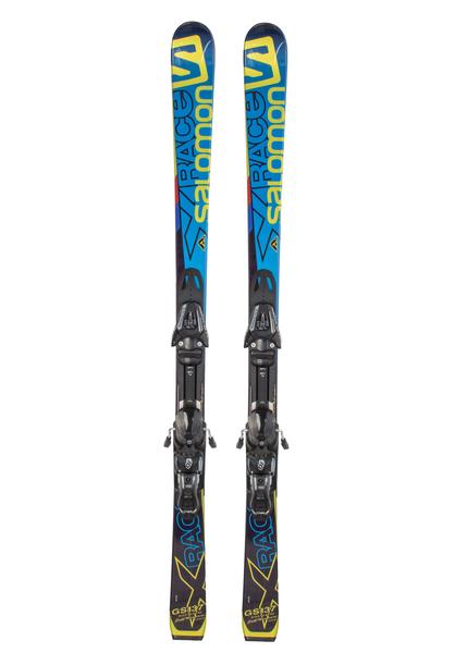 Лыжи горные с креплениями Salomon H X-Race Jr GS + JL10