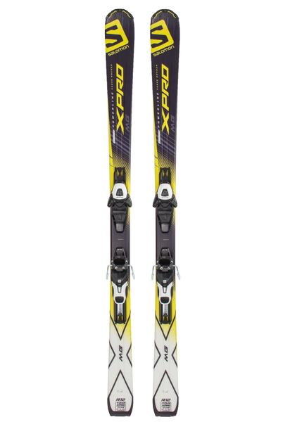 Лыжи горные с креплениями Salomon E X-Pro MG+E Light 10