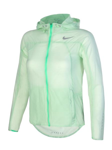 Куртка женская Nike Impossibly Light Running зеленая