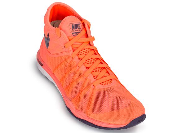 Кроссовки женские Nike Dual Fusion TR оранжевые