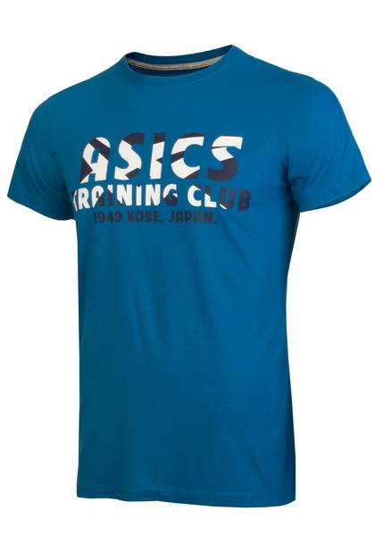 Футболка мужская Asics Traning Club SS Top синяя