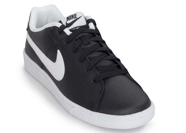 Кеды кожаные мужские Nike Court Royale черные