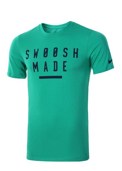 Футболка мужская Nike Dry Swoosh Made Training зеленая