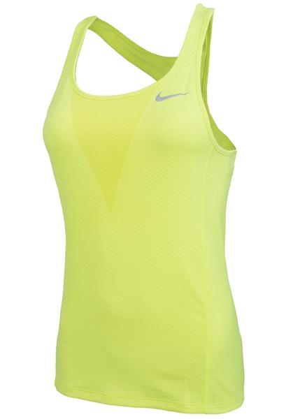 Майка женская Nike Dry Running желтая