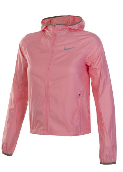 Ветровка женская Nike Shield Running розовая