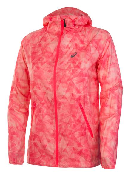 Ветровка женская Asics fuseX Packable розовая