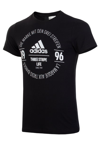 Футболка мужская Adidas Logo Tee BK2801 черная