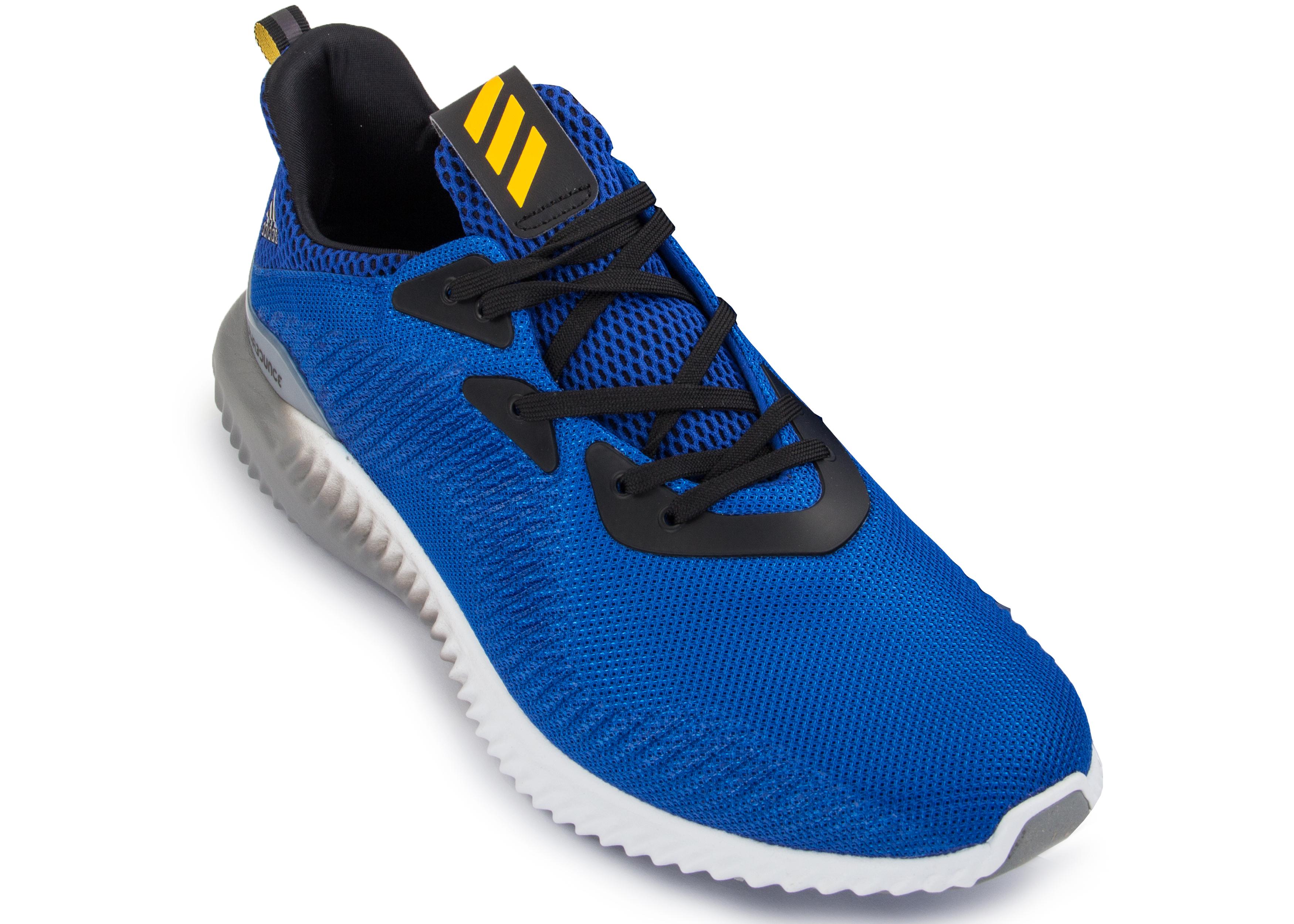 faadd0398 Кроссовки мужские Adidas AlphaBounce 1m синие - Сеть спортивных ...