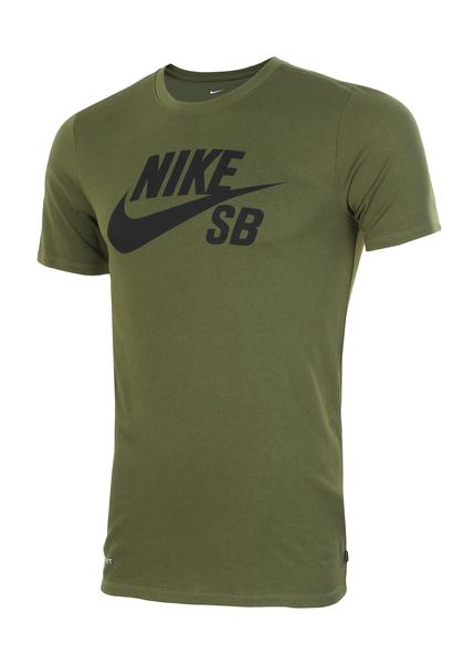 Футболка мужская Nike SB Logo зеленая