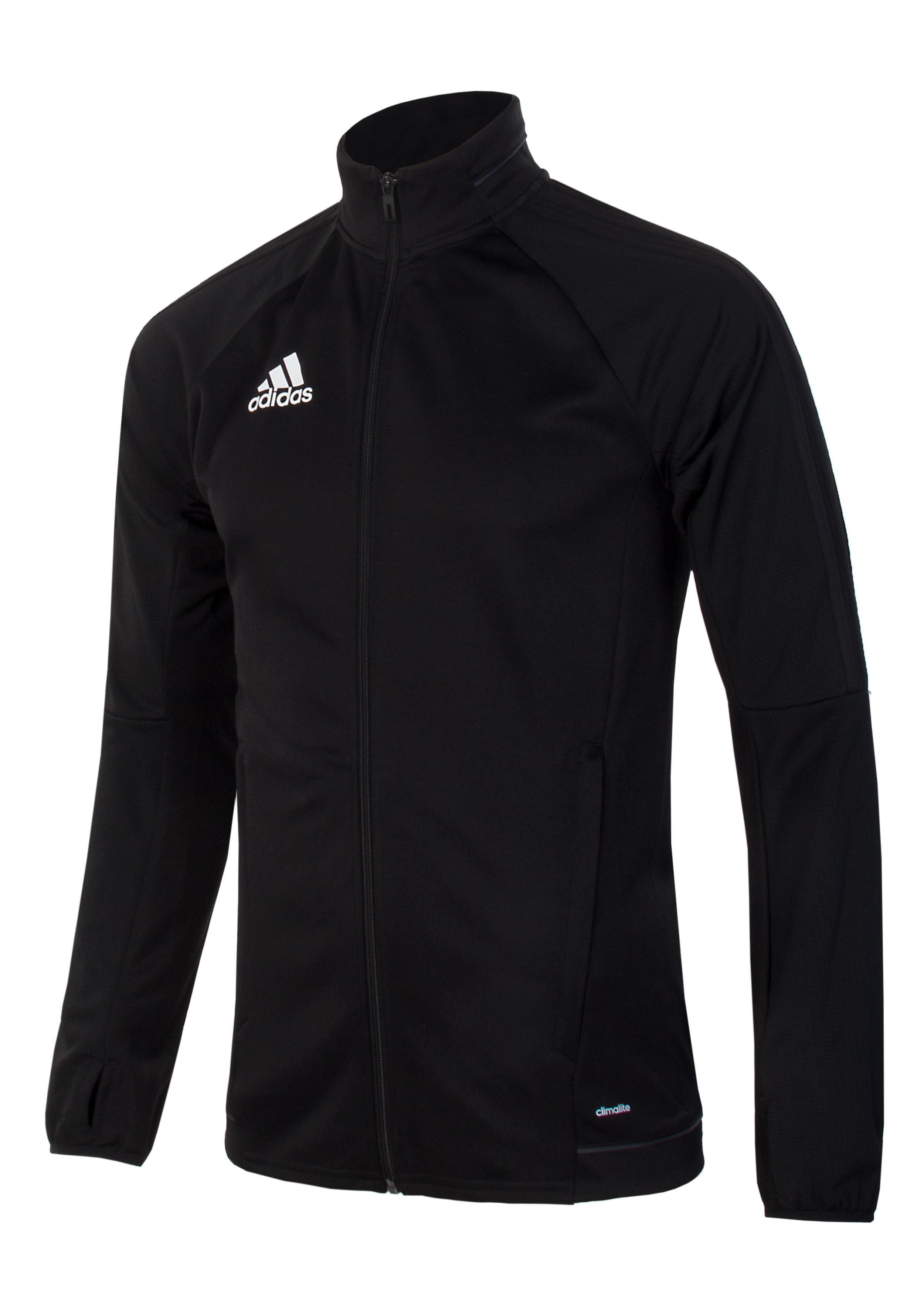 7c5230715e7 Ветровка мужская Adidas Tiro17 BJ9294 черная - Сеть спортивных ...