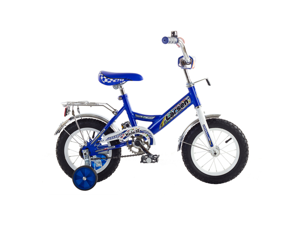 Велосипед детский Larsen Kids12 boys синий