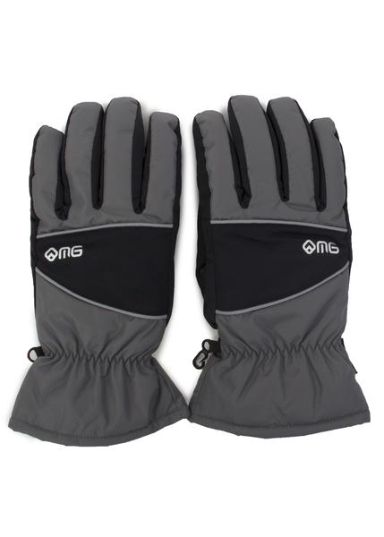 Перчатки мужские Monte Grande серые/черные