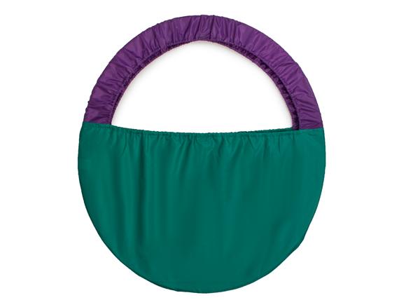 Чехол для обруча 10551 фиолетовый/зеленый
