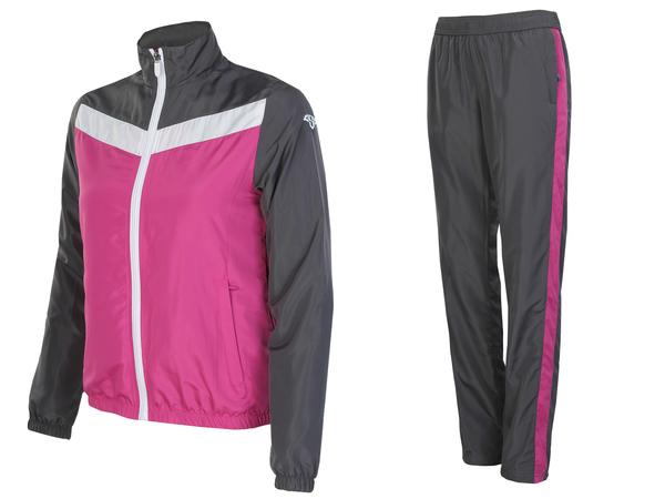 Костюм спортивный женский AS4 розовый/серый