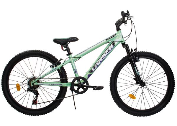 """Велосипед горный Larsen Dream Team 24"""" зеленый"""