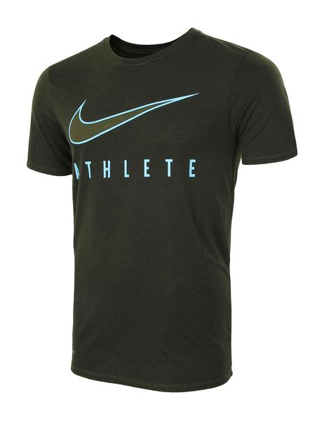 Футболка мужская Nike Dry Athlete Training зеленая