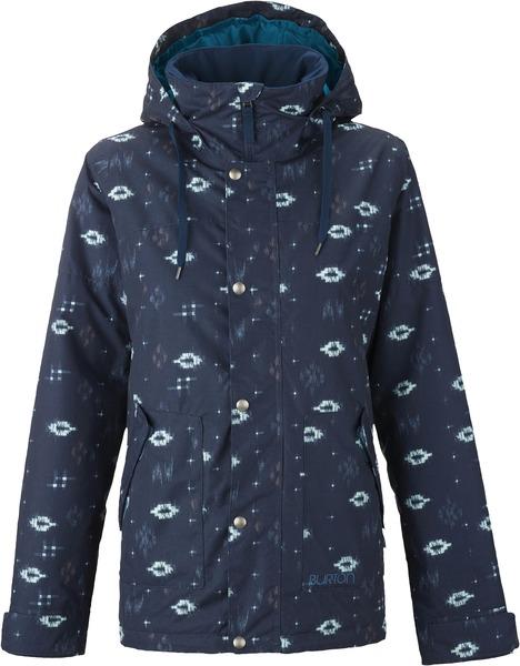 Куртка сноубордическая женская Burton Ginger Jacket Submarine Ikat